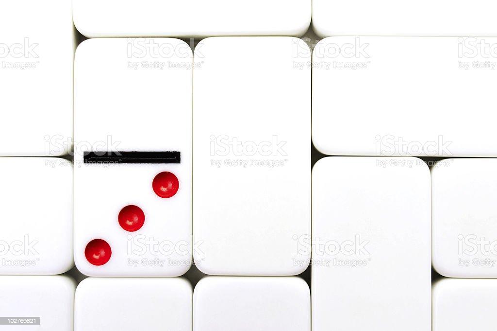 domino background royalty-free stock photo