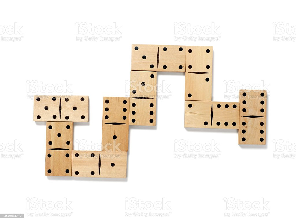 domino game royalty-free stock photo