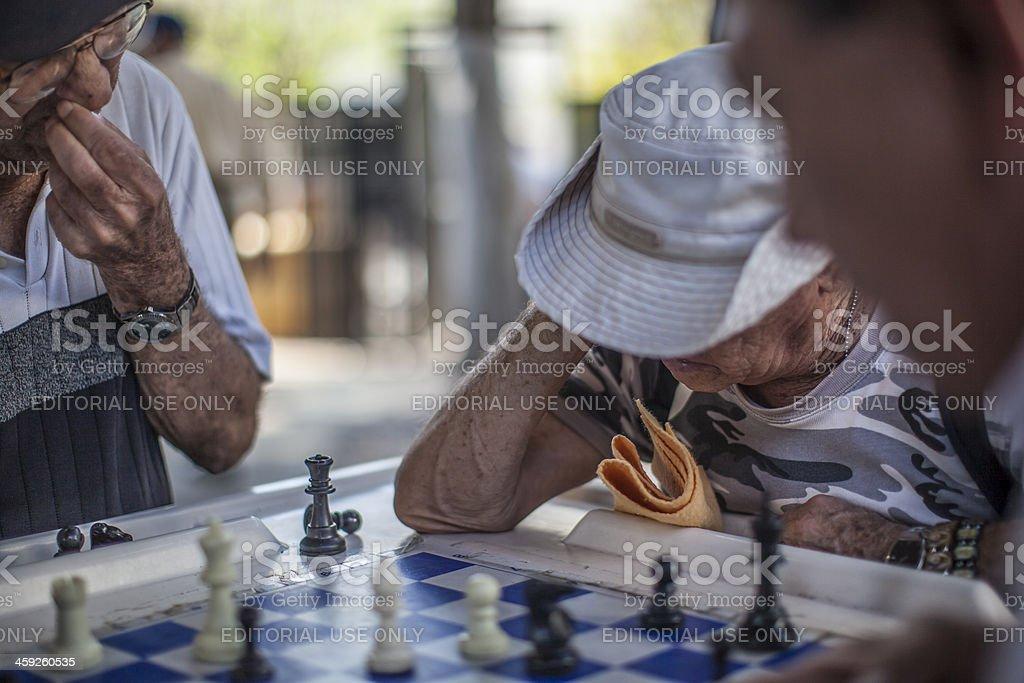Domino Park royalty-free stock photo