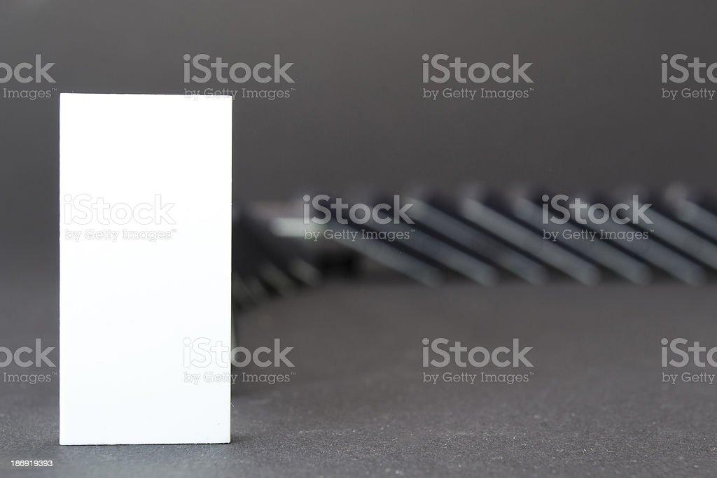 domino royalty-free stock photo
