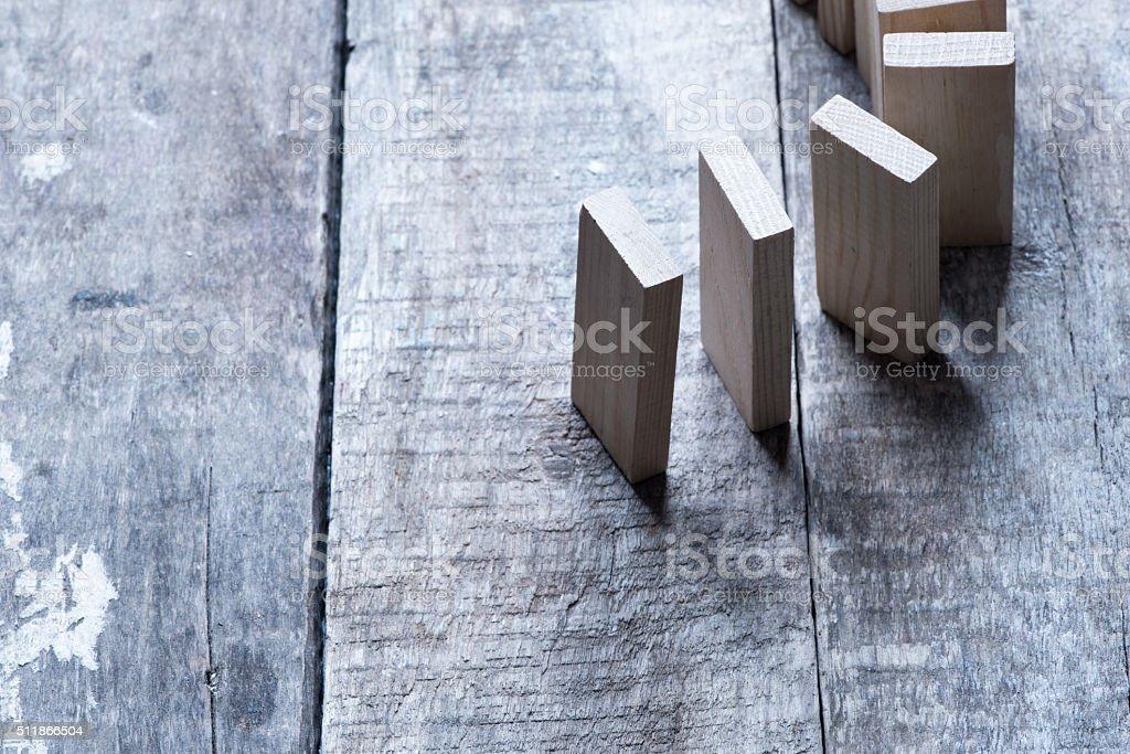 dominoes concept/toned photo stock photo