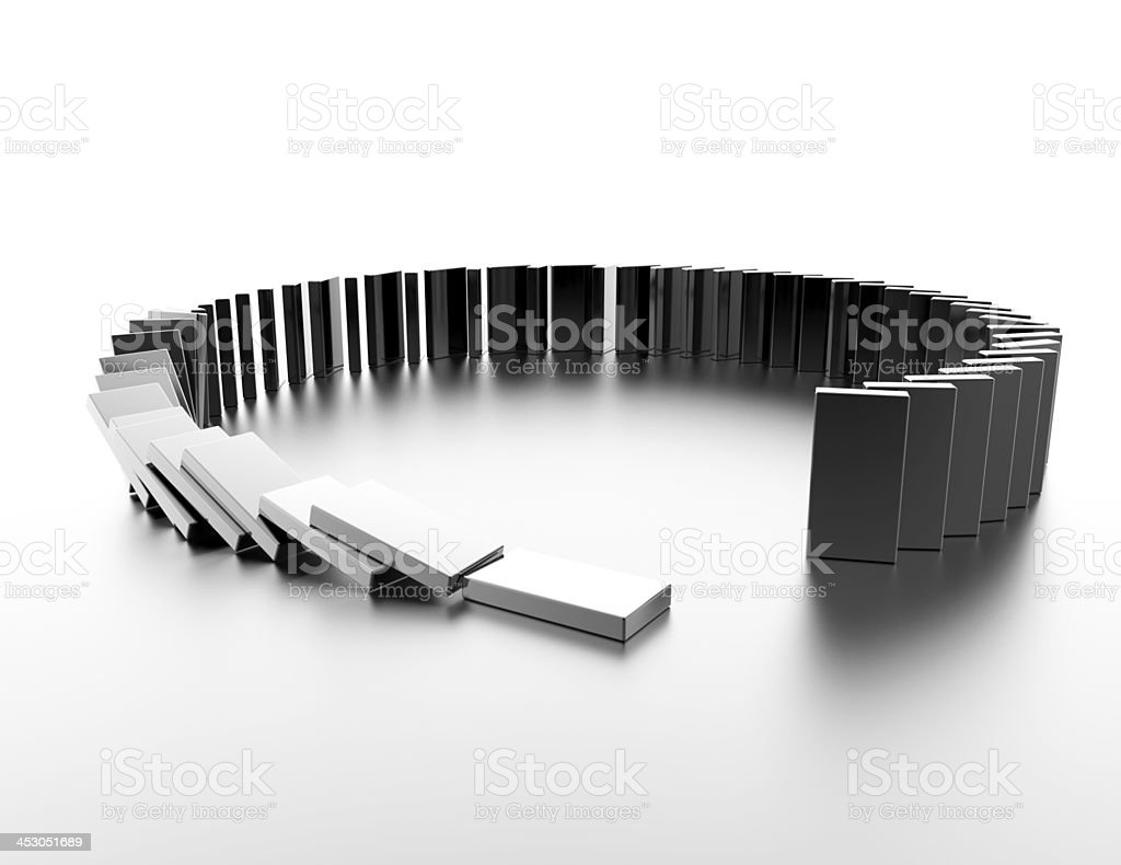 Dominos royalty-free stock photo