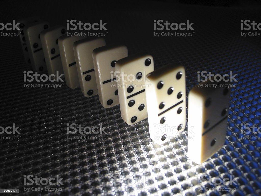Dominos - 02 stock photo