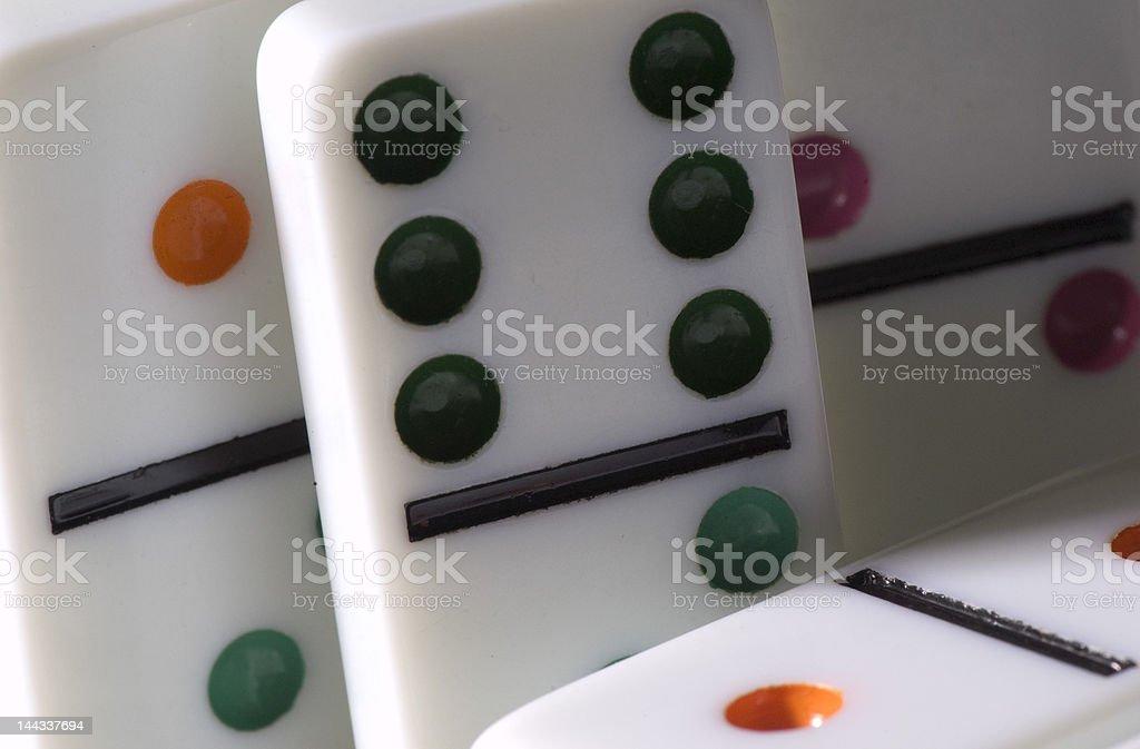 dominos stock photo