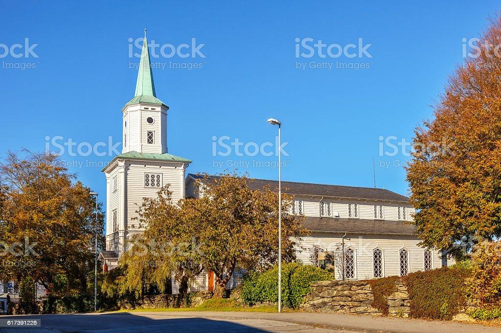 Domkirken in Stavanger stock photo
