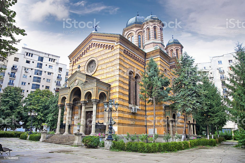 Domnita Balasa church in Bucuresti royalty-free stock photo