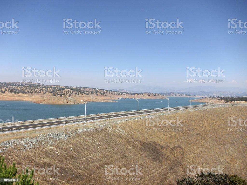 Don Pedro Reservoir (Lake), California stock photo