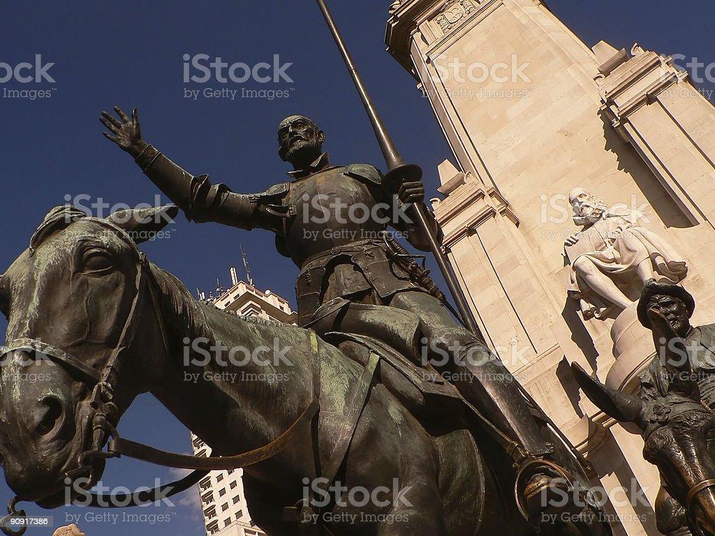 Don Quijote stock photo