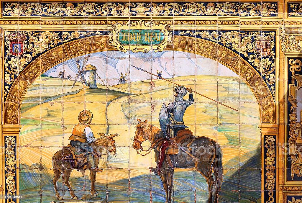 Don Quixote royalty-free stock photo