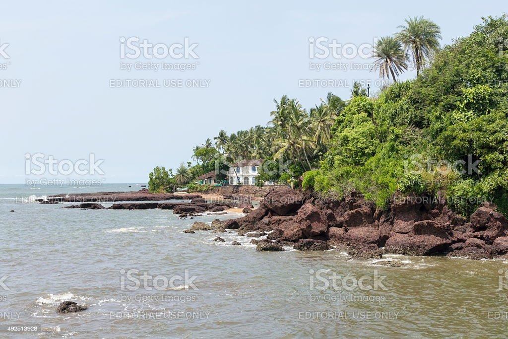 Dona Paula, Goa, India stock photo