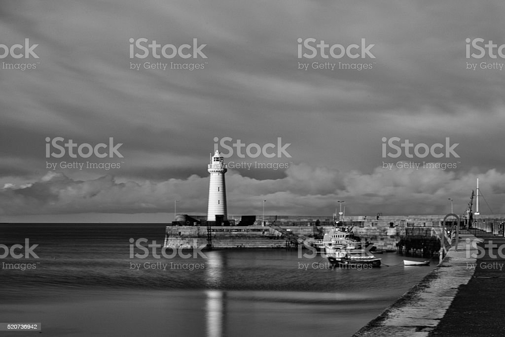 Donaghadee Harbour stock photo