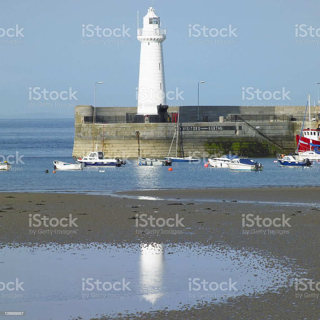 Donaghadee stock photo