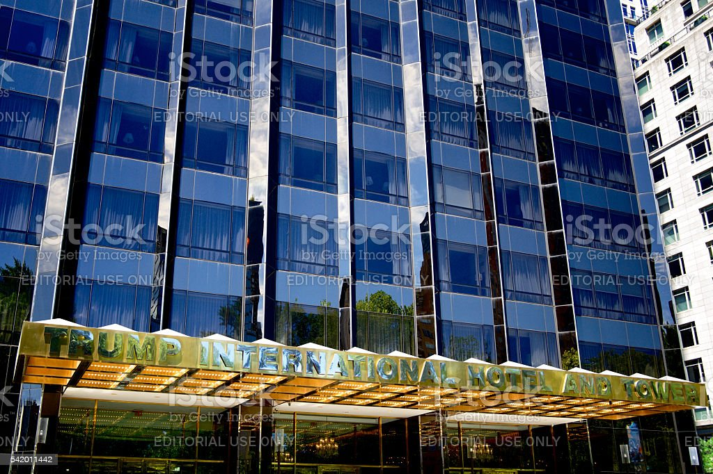 Donald Trump property, International Hotel And Tower, Upper Midtown Manhattan stock photo