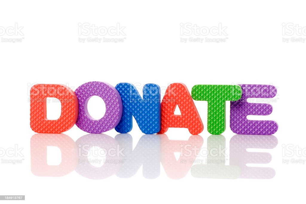 donate royalty-free stock photo