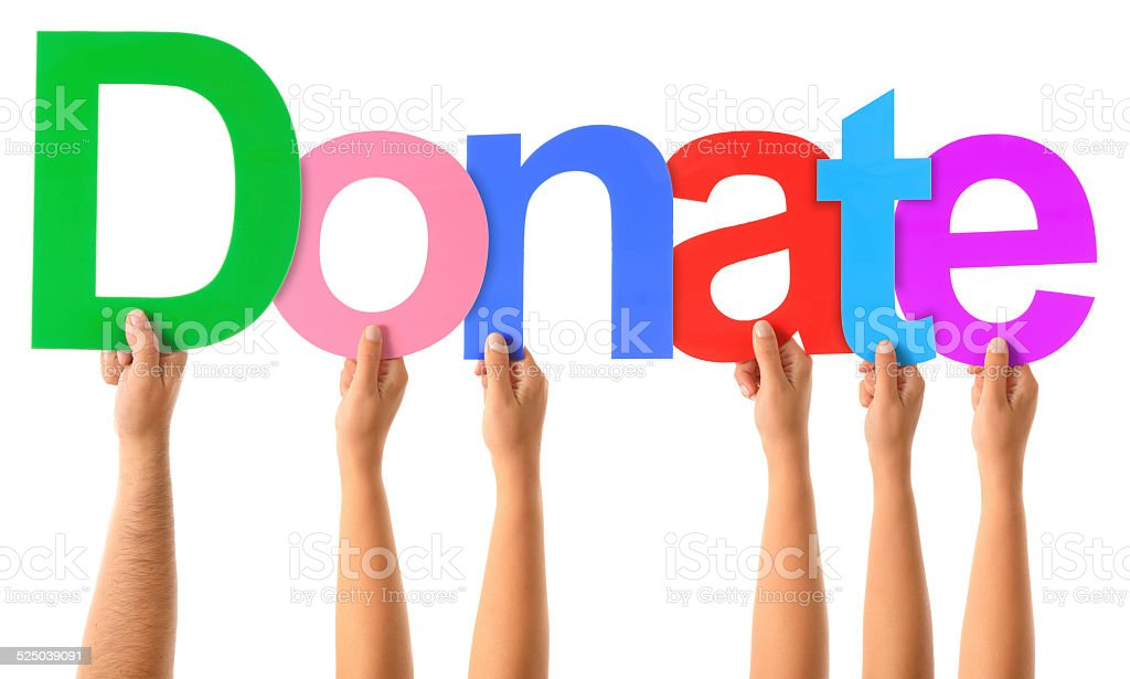 Donate stock photo