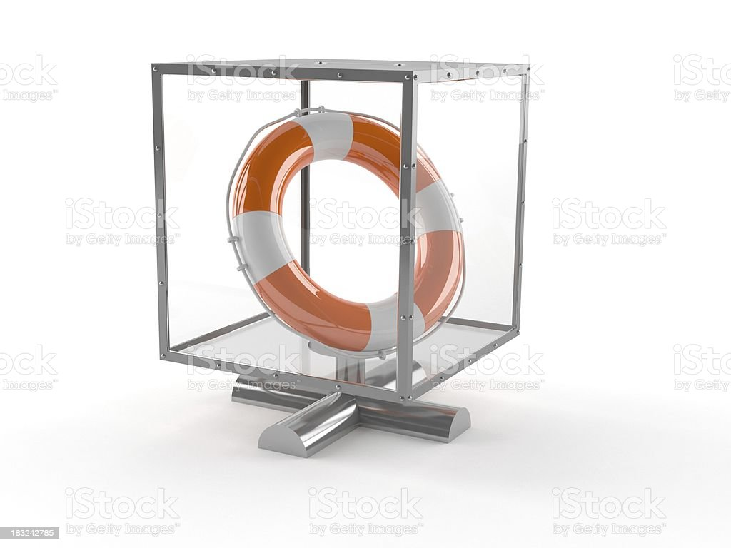 Donation box royalty-free stock photo