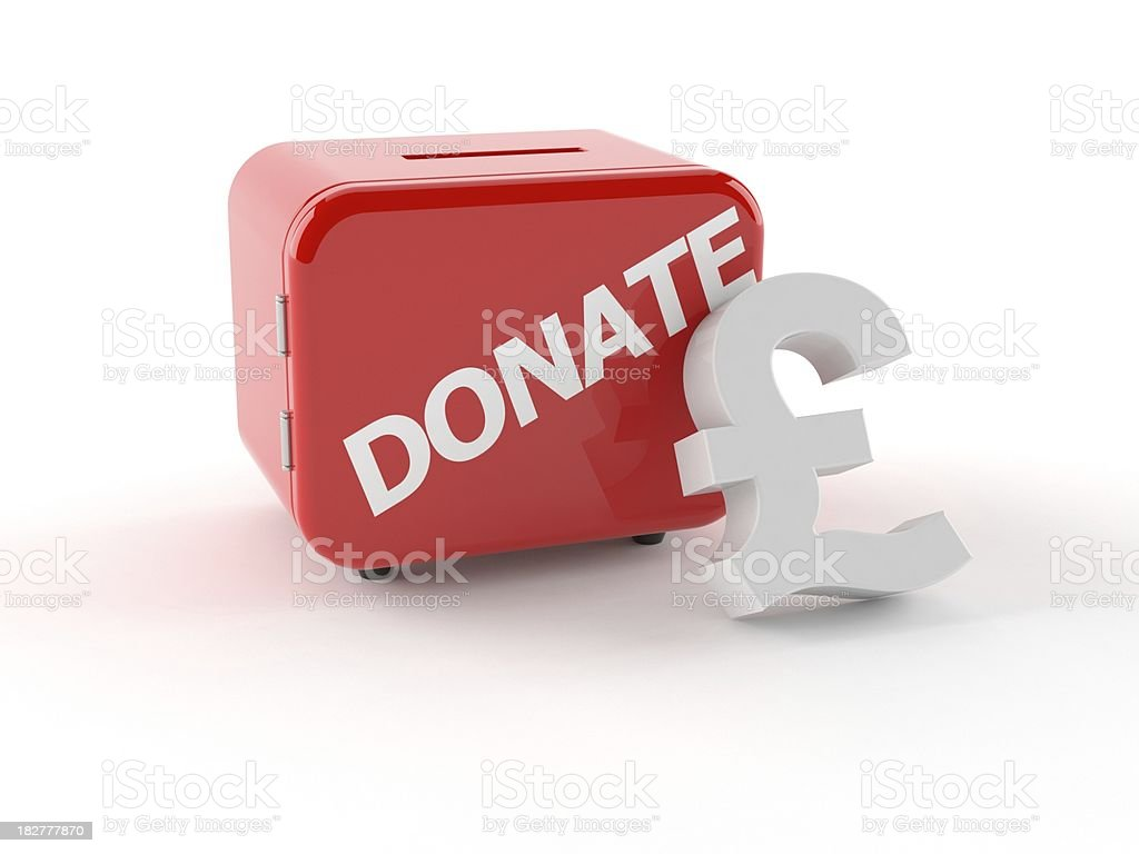 Donation royalty-free stock photo