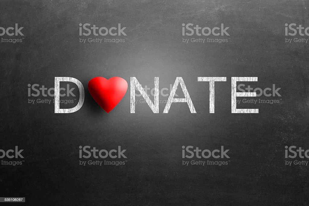 Donation stock photo