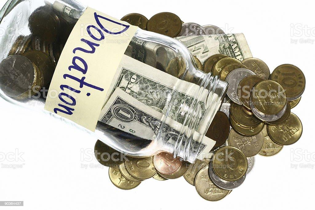 Donation royalty-free stock photo