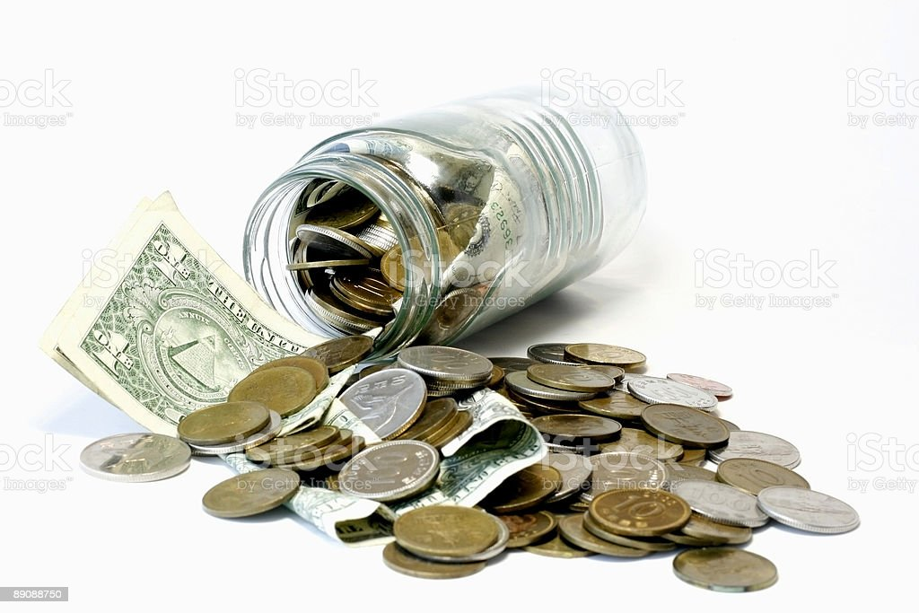 Donations royalty-free stock photo
