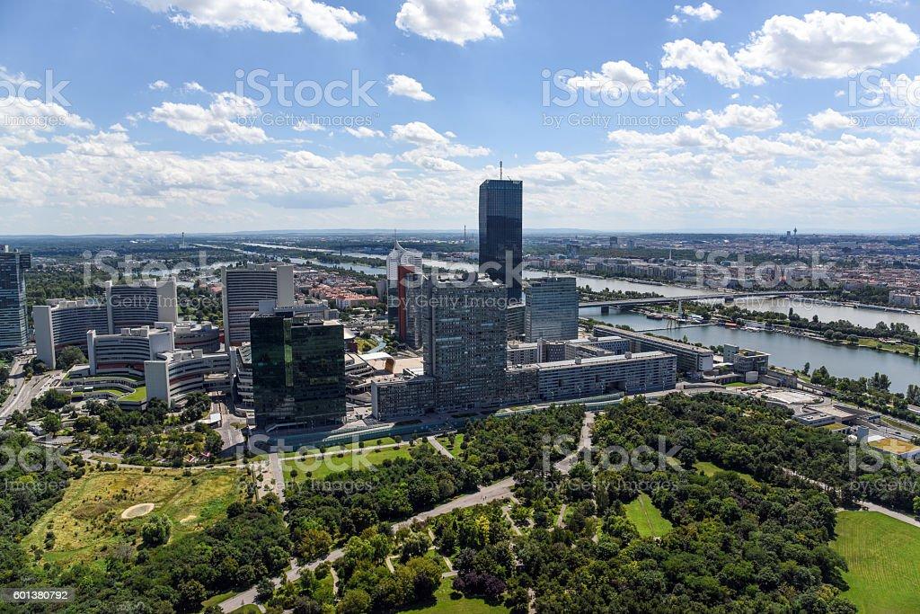Donau City - Vienna stock photo