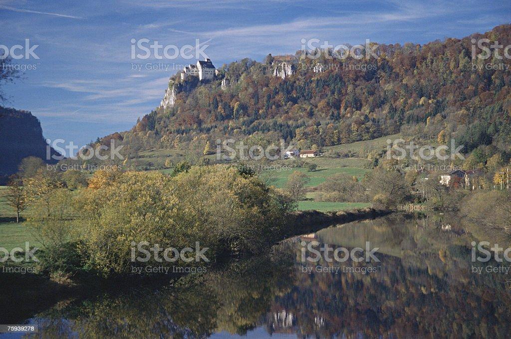Donau river royalty-free stock photo
