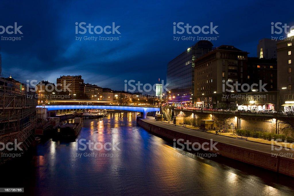 Donaukanal royalty-free stock photo