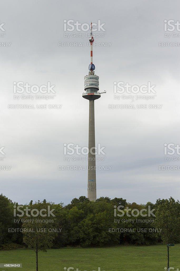 Donauturm royalty-free stock photo