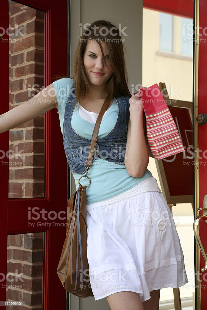 Done Shopping royalty-free stock photo