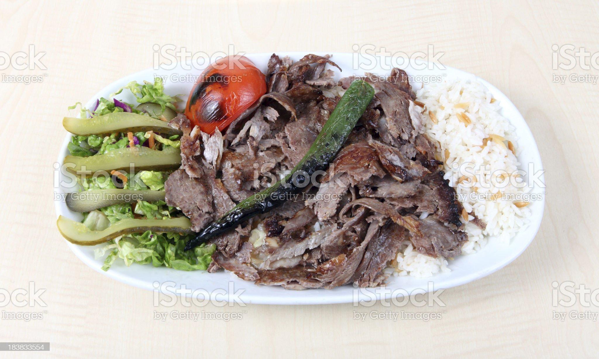 doner kebab royalty-free stock photo