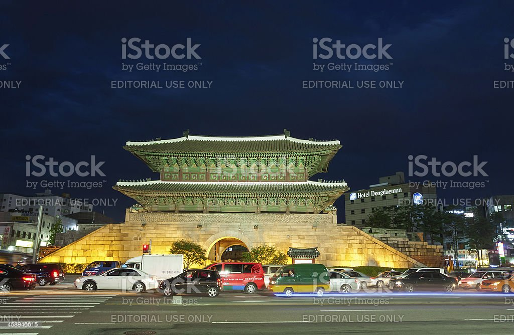 Dongdaemun Gate royalty-free stock photo