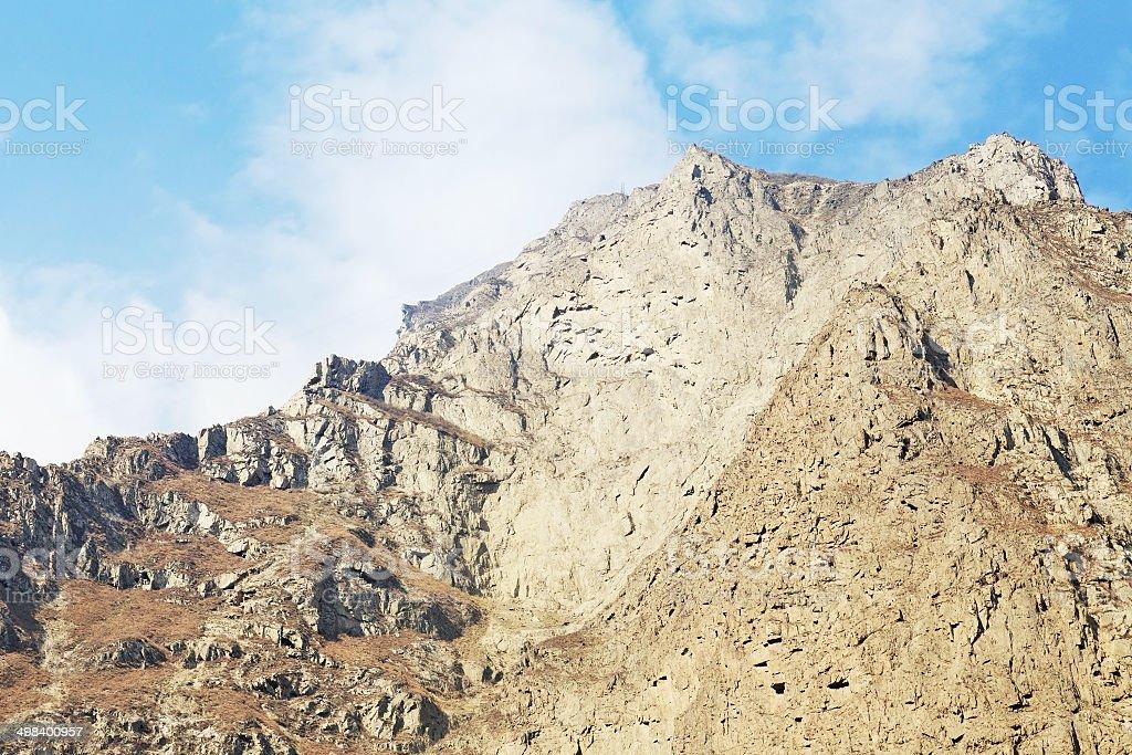 dongyuan mountain stock photo