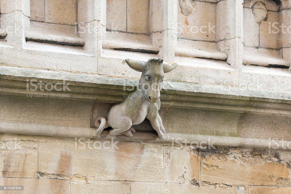 Donkey Statue stock photo