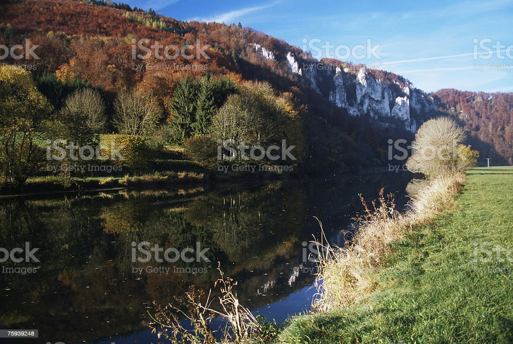 Donnau river royalty-free stock photo