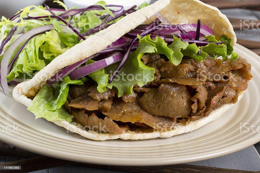 Donner Kebab / Gyro royalty-free stock photo