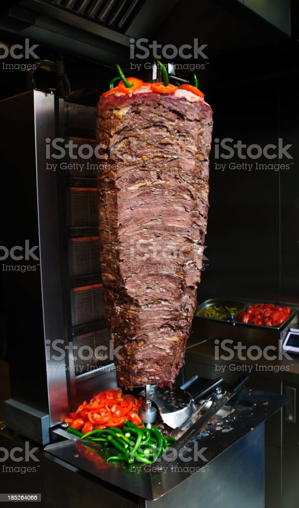 Donner kebab stock photo