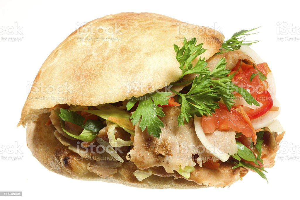 Donner kebab. royalty-free stock photo