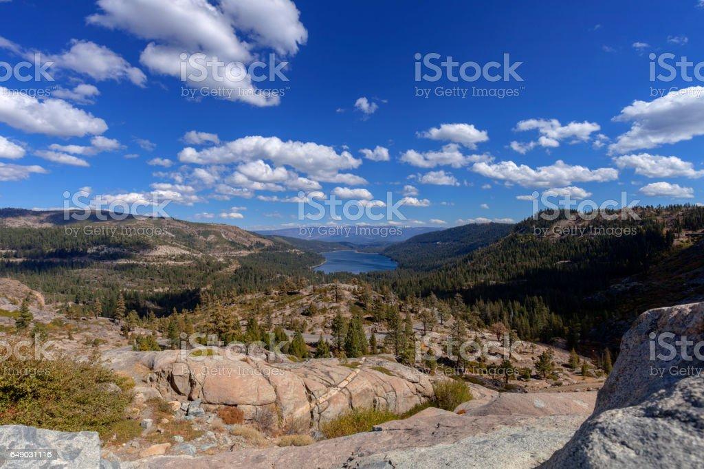 Donner Pass stock photo