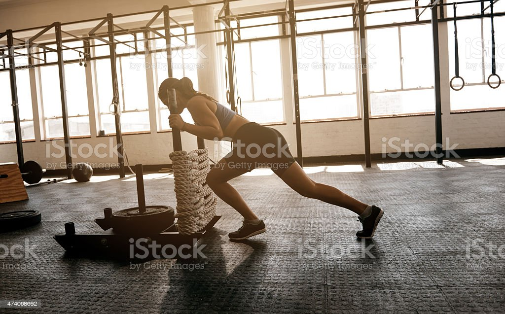 Don't be afraid to challenge yourself stock photo