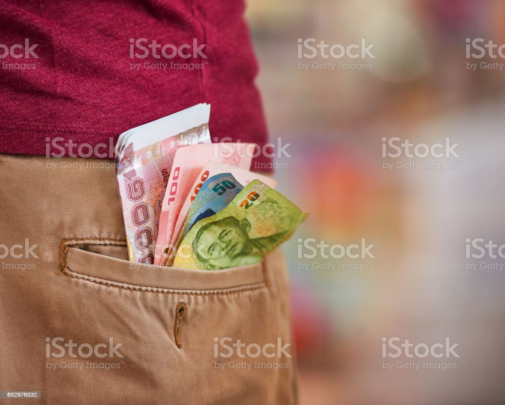 Don't be careless with your money stock photo