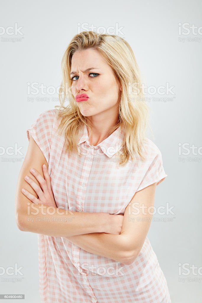 Don't be like that... stock photo