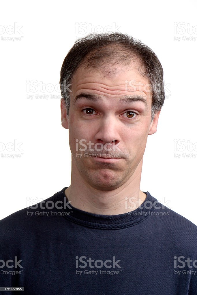 I Don't Believe You! royalty-free stock photo
