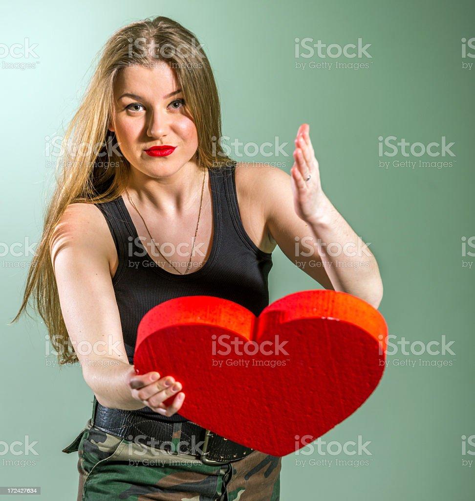 Don't  breaking my heart stock photo