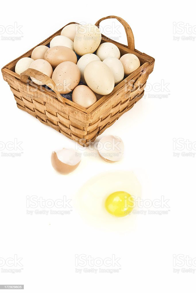 Dont count your chickens until theyre hatched stock photo
