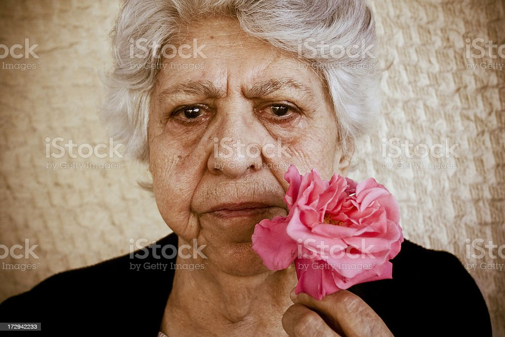Don't cry for me stock photo