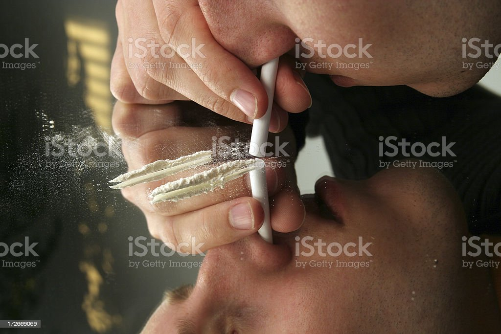 Don't do drugs! stock photo