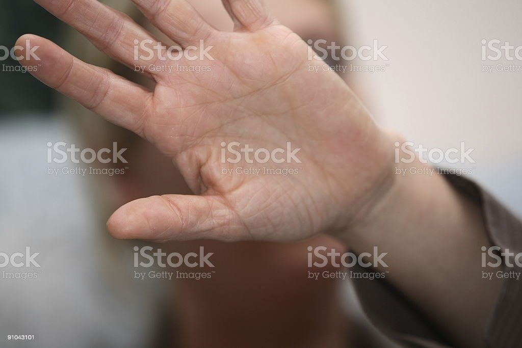 Don?t do that (color) stock photo
