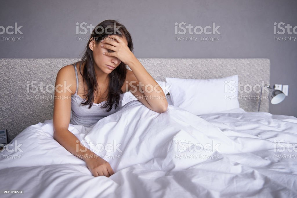 Don't feel like this day royalty-free stock photo
