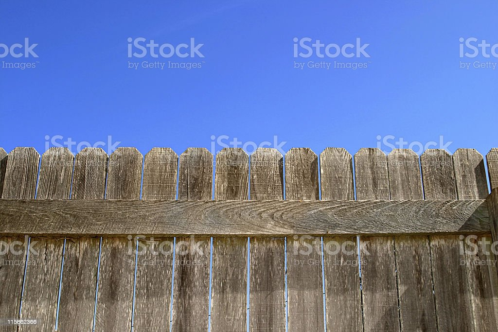 Don't Fence Me In royalty-free stock photo