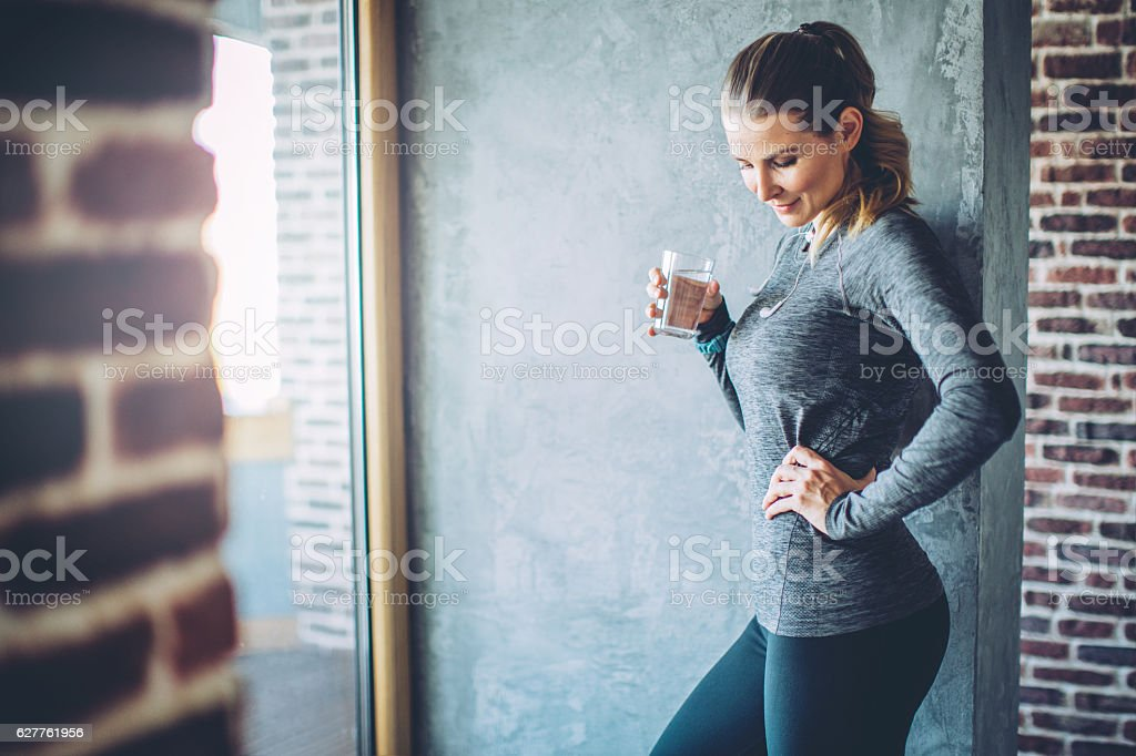 Don't forget to hydrate stock photo